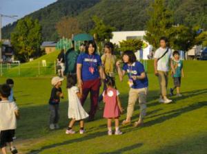 福島の子供保養プロジェクトの活動の様子