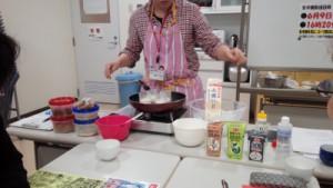 豆腐を手作り