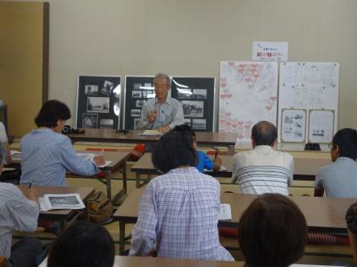 語り部を務めてくださった宇土市の山田浩茂さん(85歳)