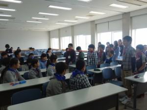熊本の子どもたちから福島の子どもたちへ「歓迎のあいさつ」