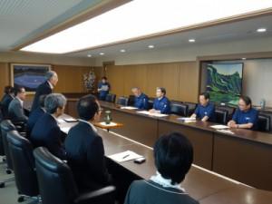 あいさつを行う熊本県生活協同組合連合会 会長理事 吉永章