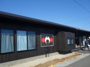 県内最大の仮設団地、テクノ仮設団地内に設けられた「みんなの家」