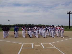 8チームの選手団