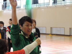 島津さんの選手宣誓